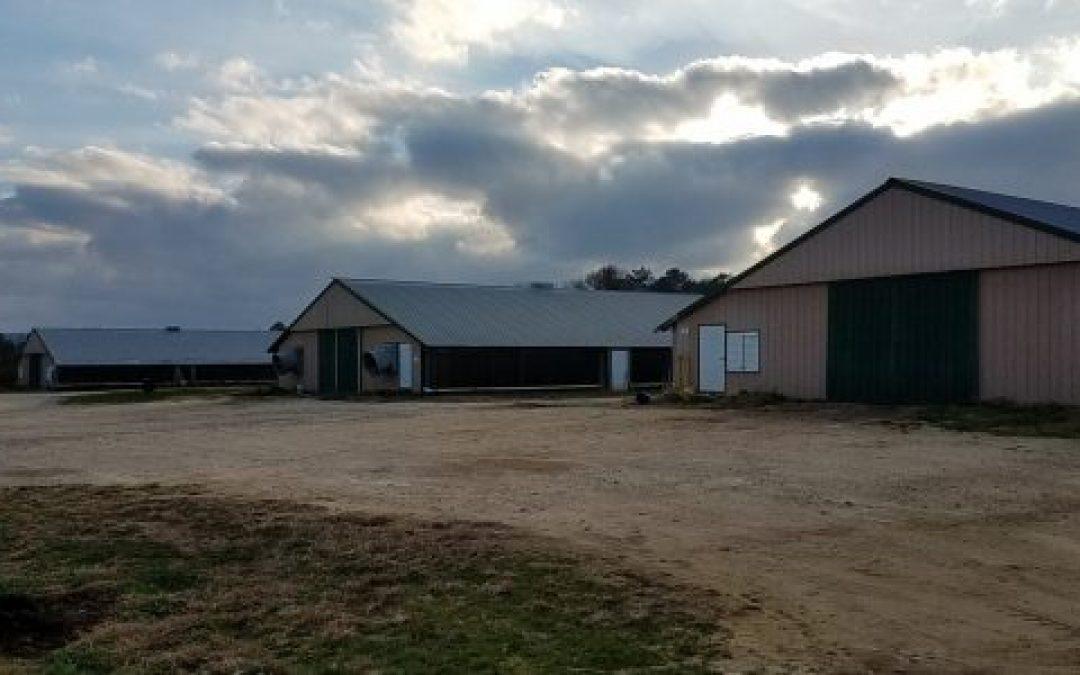 SOLD! Hidden Farm Three House Broiler Farm – St Clair County, AL