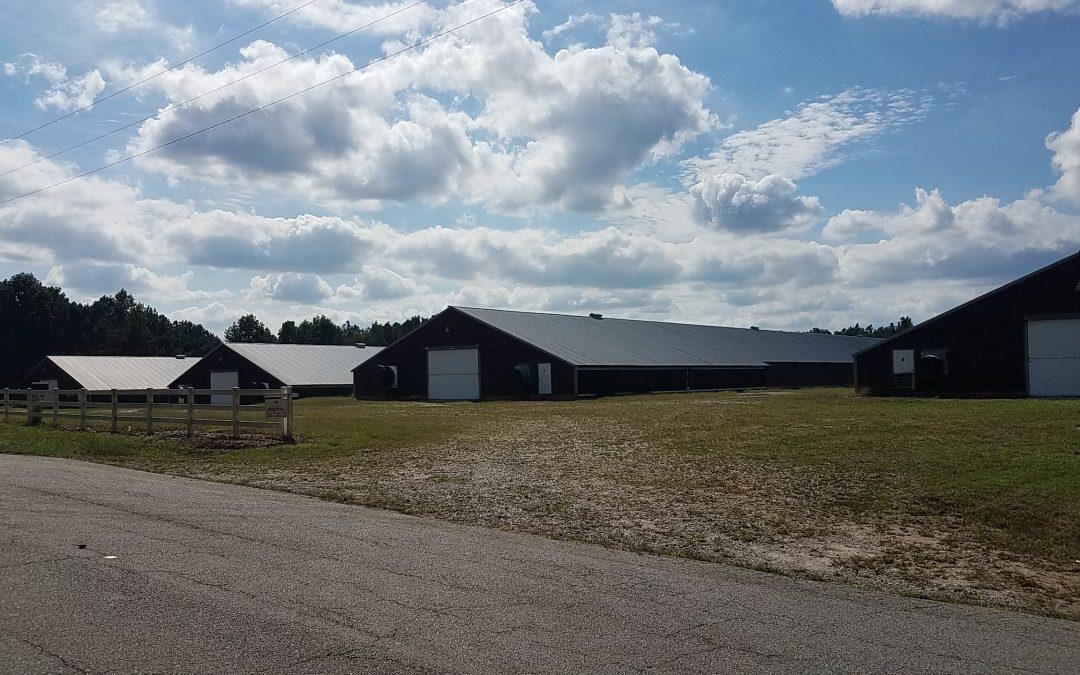 SOLD!-Robinson Farm-Four House Broiler Farm in Carroll County, GA