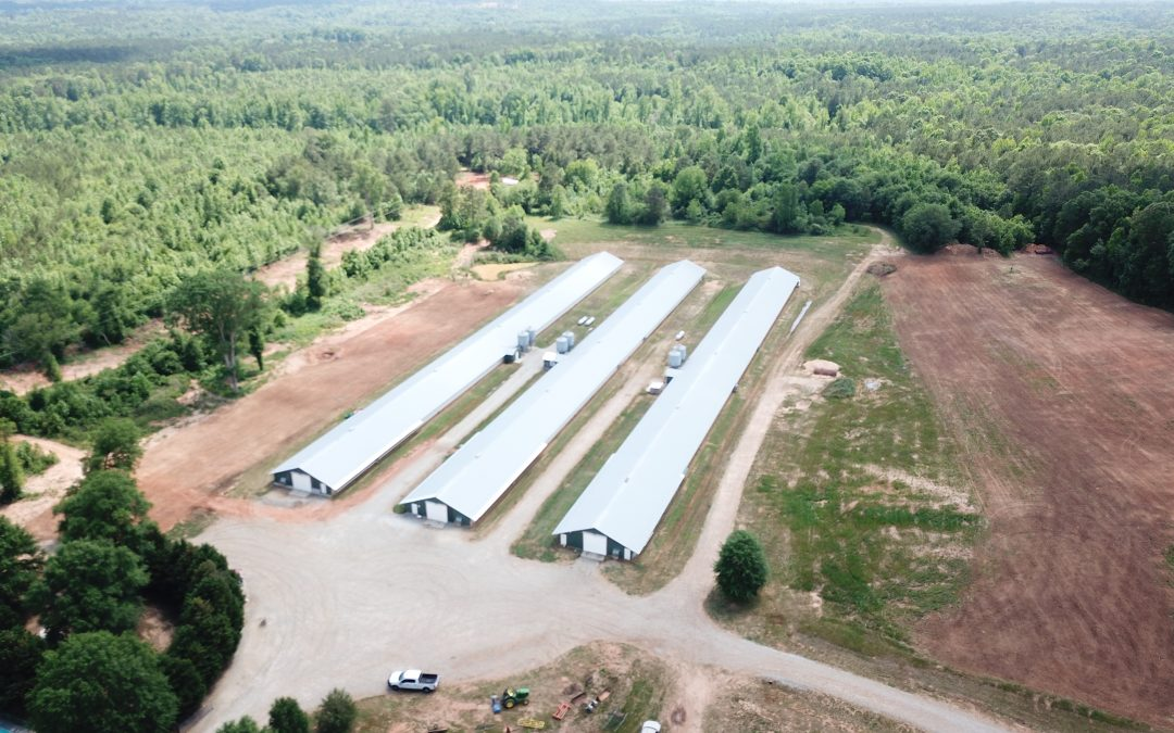 Sugar Creek Farms-Seven House Broiler Farm in Greene and Morgan County, GA