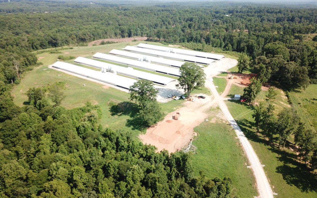 SALE PENDING! Ridgeback Farm Poultry, LLC-Six House Broiler Farm in Banks County, GA