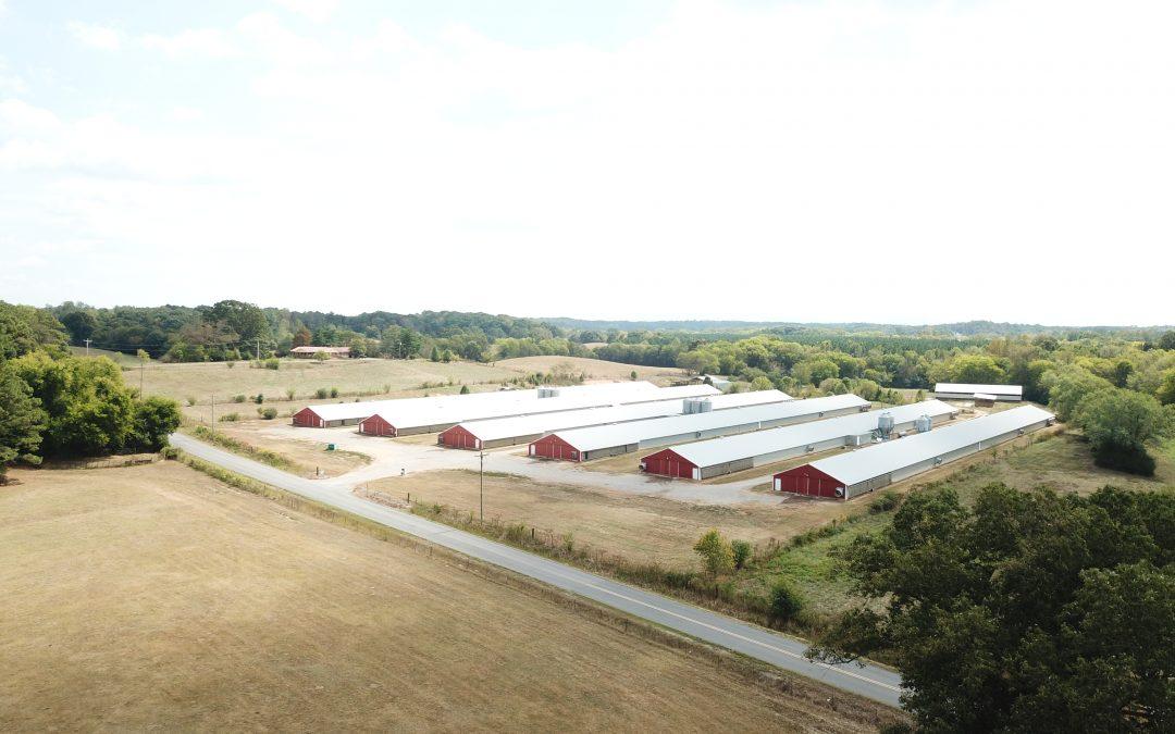 Covington Bridge Poultry-Six House Broiler Farm in Gordon County, GA